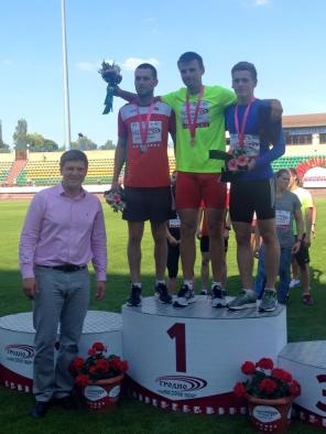 Чемпионат Республики Беларусь по легкой атлетике проводится на качественно новом организационном уровне, а также широко освещается в СМИ.  Церемония награждения. 2016г.